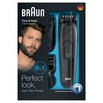 Braun Face & Head Trimming Kit, MGK3020