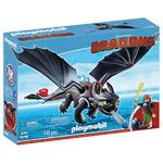DreamWorks Dragons 9246 Hiccup & Toothless by Playmobil