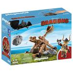 Playmobil 9245 Dragons Gobber with Catapult, 4yrs+
