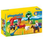 Playmobil 6963 1.2.3 Petting Zoo with Many Animals