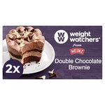 Heinz Weight Watchers Double Chocolate Brownies
