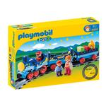 Playmobil 6880 1.2.3 Night Train with Track, 1.5yrs+
