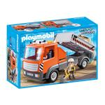 Playmobil 6861 City Action Construction Flatbed Workmans Truck, 4yrs+
