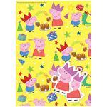 Peppa Pig Giftwrap Sheets Pack