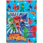 PJ Masks Giftwrap Pack with Card