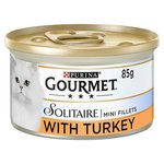 Gourmet Solitaire Cat Food Turkey in Sauce