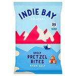 Indie Bay Snacks Spelt Pretzel Bites with Rock Salt
