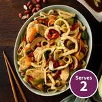 Qookit Chicken Pad Thai with noodles & Asian Vegetables Recipe Kit