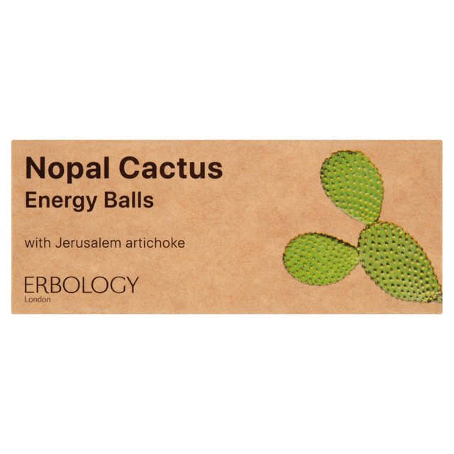 Erbology Nopal Cactus Energy Balls | Ocado