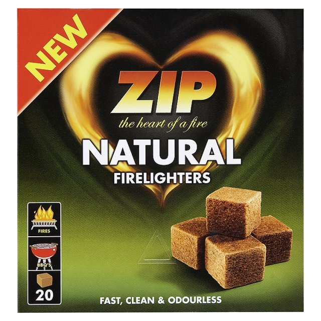 Zip Natural Lighter Cubes