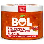 BOL Smokey Tomato, Lentil & Red Pepper Protein Boosting Super Soup