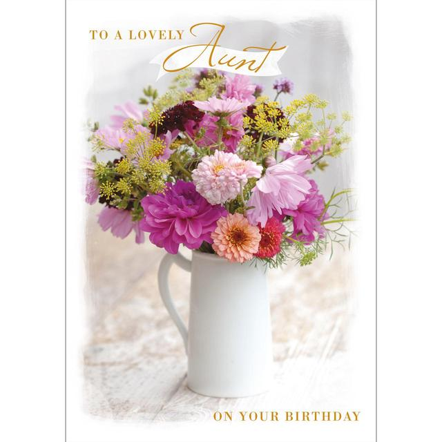 Aunt Birthday Card From Ocado