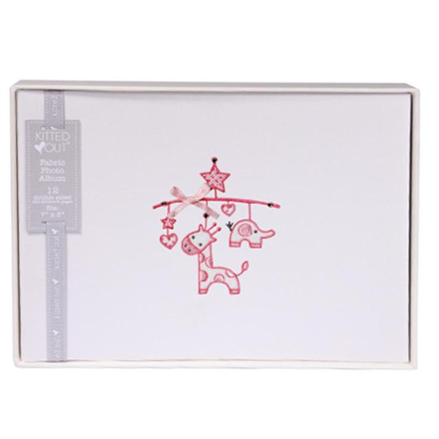 Deva Fabric Photo Album Pink From Ocado