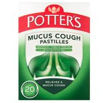 Potters Mucus Cough Pastilles