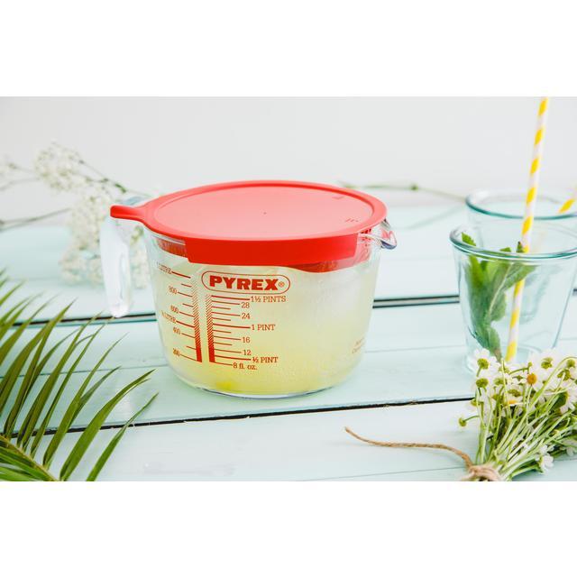 Pyrex Jug with Lid | Ocado