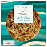 Broccoli, Spinach & Ricotta Quiche Waitrose