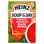 Heinz Soup of the Day Tomato, Roasted Garlic & Black Pepper