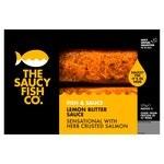The Saucy Fish Co. Salmon Herb Crust with Lemon Butter Frozen