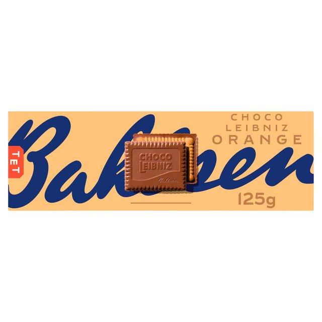 Bahlsen Choco Leibniz Orange Biscuits
