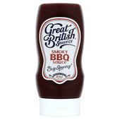 Great British Sauce Smoky BBQ Sauce Squeezy