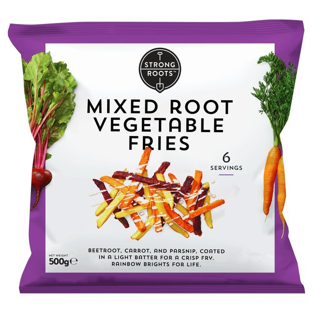 Strong Roots Mixed Root Vegetable Fries Ocado