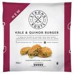 Strong Roots Kale & Quinoa Burger