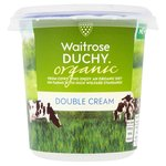Waitrose Duchy Organic Double Cream