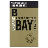 Cooks' Ingredients Organic Bay Leaves Waitrose