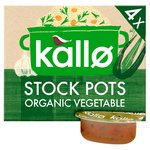Kallo Organic Vegetable Stock Pots