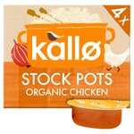 Kallo Organic Chicken Stock Pots