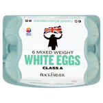 The Black Farmer Mixed Weight White Eggs