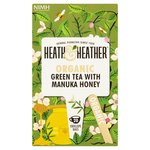 Heath & Heather Organic Green Tea & Manuka Honey Tea Bags