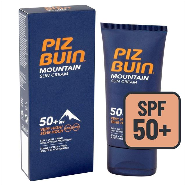 piz buin spf 50 mountain sun cream 50ml from ocado. Black Bedroom Furniture Sets. Home Design Ideas