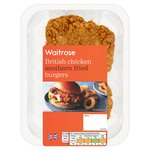 Waitrose British Chicken Southern Fried Thigh Burger