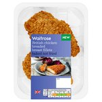 Waitrose British Chicken Breaded Baked Fillets