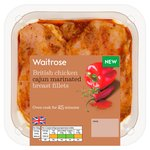 Waitrose Cajun Breast Fillets