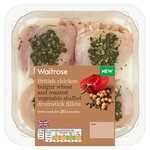 Waitrose British Chicken Wheat & Roasted Vegetable Stuffed Drum Fillets