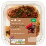 Waitrose British Chicken Puttanesca Topped Breast Fillets