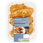 Waitrose British Chicken Salt & Pepper Breaded Mini Fillets