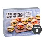 Picard 9 Mini Sandwiches with Bagnat Bread