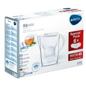 Brita Maxtra+ Marella Cool White Water Filter 6 Month Pack