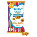 Popworks Sticky Toffee Pudding Popcorn