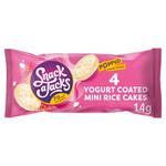 Snack A Jacks Yogurt Coated Mini Rice Cakes