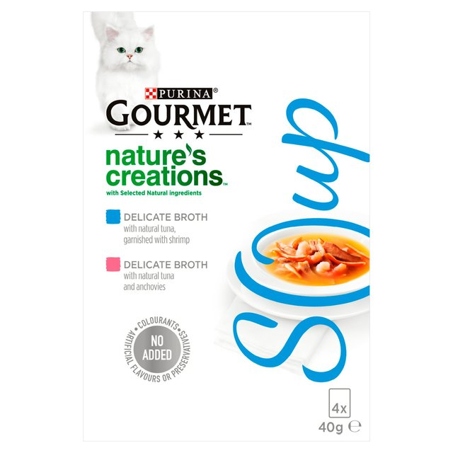 Cat Food Broth Only