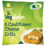 Ocado 6 Cauliflower Cheese Grills