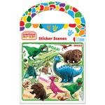 Dinosaur Roar Sticker Scene