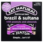 Eat Natural Brazils Nuts, Sultanas & Almonds Bars Multipack