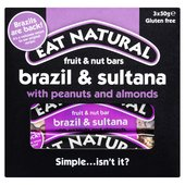 Eat Natural Brazils Nuts, Sultanas & Almonds Bars