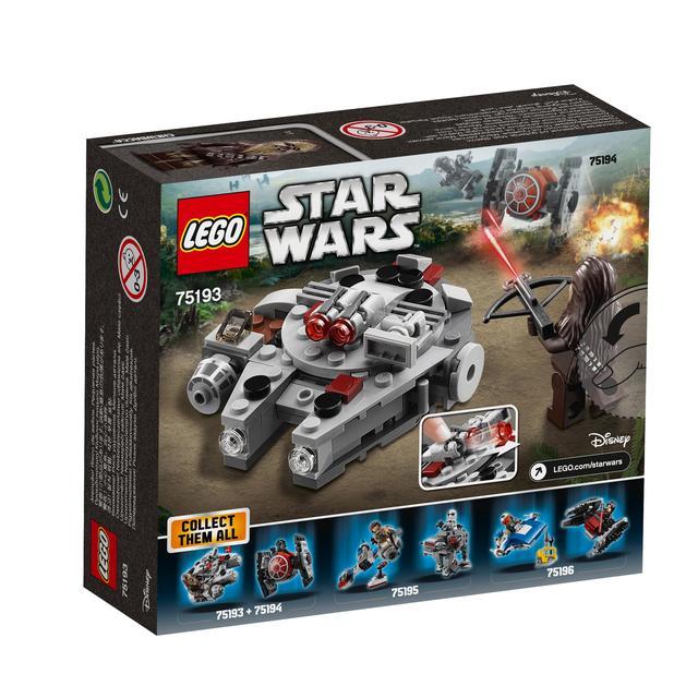 LEGO Star Wars Millennium Falcon Microfighter 75193 from Ocado
