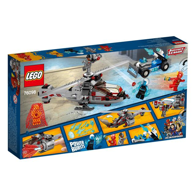 LEGO Super Heroes Speed Force Freeze Pursuit 76098 from Ocado